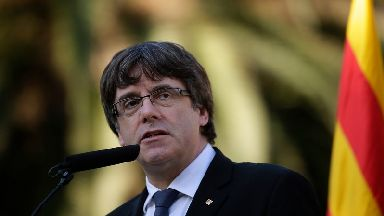 Carles Puigdemont has been ordered to appear before a judge.