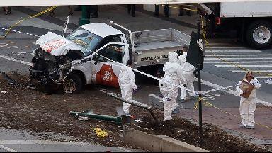New York truck terror attack.