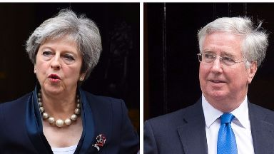 Theresa May will have to decide who will replace Michael Fallon.