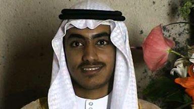 Video footage of an adult Hamza bin Laden has been released.