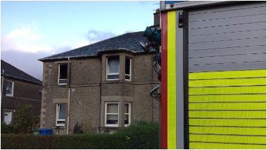 House fire dumbarton