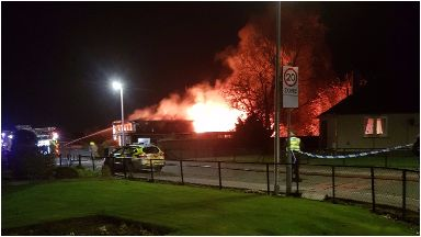 Fire at primary school