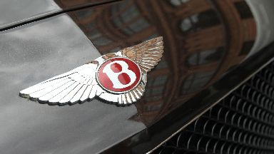 Bentley badge logo hood ornament