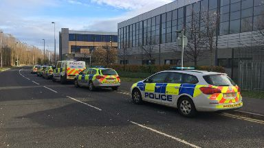 Police officer stabbed at Edinburgh College Granton campus