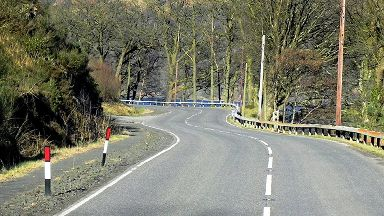 A82 north of Tarbet
