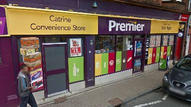 Catrine Convenience Store where woman was seriously injured on 5/11/17