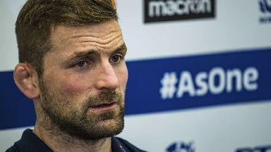 John Barclay, Scotland rugby, November 2017