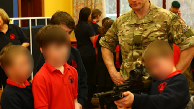 Royal Marine gun school