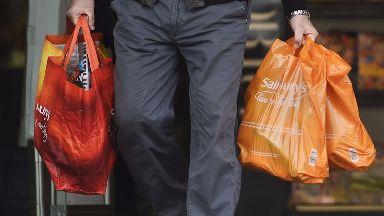 Sainsbury's shopping bags