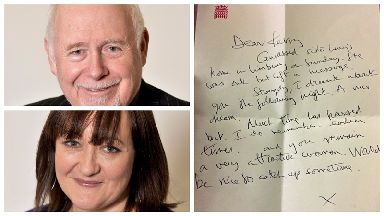 Kerry McCarthy claims Kelvin Hopkins told her that he 'dreamed about' her in a letter.