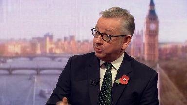 Michael Gove defended Boris Johnson's remarks about jailed Briton Nazanin Zaghari-Ratcliffe.