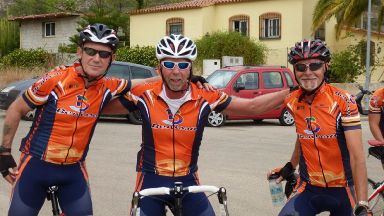 John Telfer: He was in a coma for two weeks. Alicante Cyclist Spain