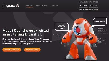 The i-Que Intelligent Robot toy.