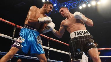 Josh Taylor on the next step in his career