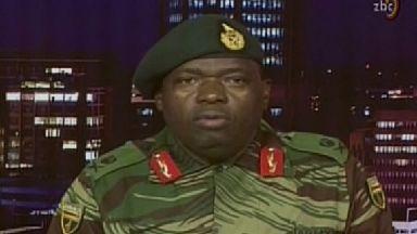 Zimbabwe army Robert Mugabe