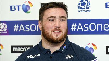 Zander Fagerson, Scotland rugby, November 2017