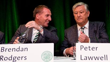 Brendan Rodgers and Peter Lawwell