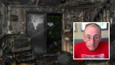 Anthony Nicholls died following the fire at his home.