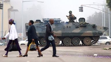 Zimbabwe at 'turning point' after 'coup in all but name' against Robert Mugabe