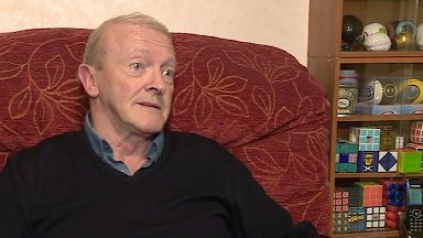MND sufferer Dave Finlayson who will end life in Switzerland
