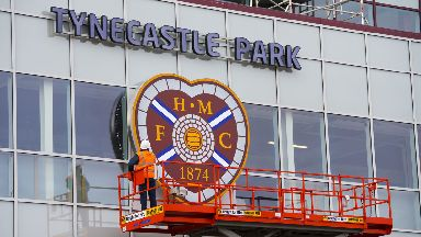 Tynecastle Main Stand 2017