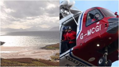 Applecross: Nearby fishing vessels also searching. Highlands