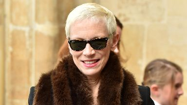 Annie Lennox attending the Commonwealth Day service at Westminster Abbey, London