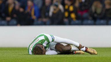 Moussa Dembele injury Nov 2017