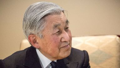 Akihito, who will be 85, said his age was a concern