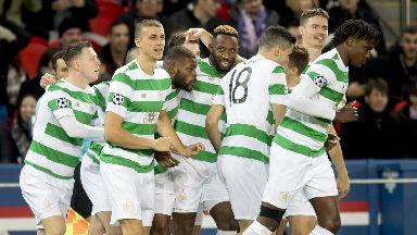 Celtic goal PSG
