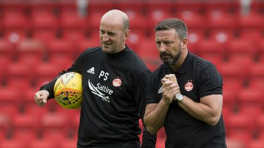 Paul Sheerin and Derek McInnes