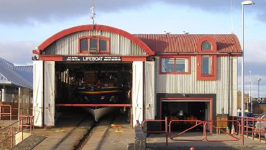 Arbroath Lifeboat: Cover provided from Montrose and Broughty Ferry.