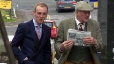 John Clive Richardson, 67, and his 24-year-old son Jonathan Riley