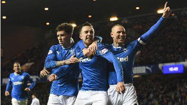 Rangers celebrate 2017