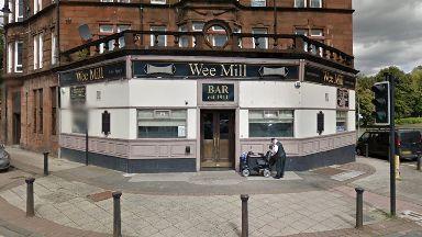 Wee Mill pub in Glasgow