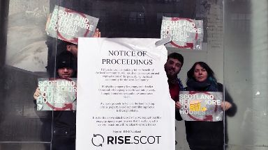 Rise: Group says homeless in Scotland could be housed.