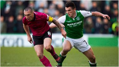Battle: Scott Brown and John McGinn.