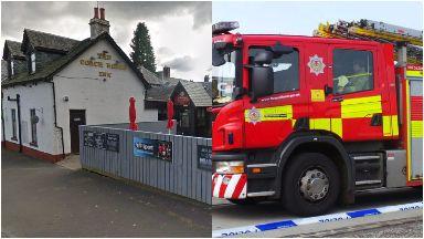 Cardross Inn: Pub had been closed for renovation. Argyll