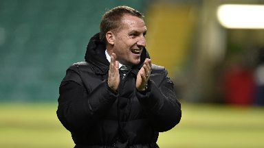 Gratitude: Rodgers thanked fans.
