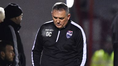 Owen Coyle, Dec 2017