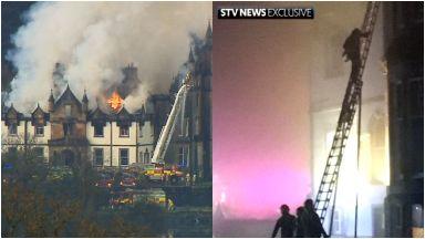 Cameron House: Residents evacuated. Loch Lomond