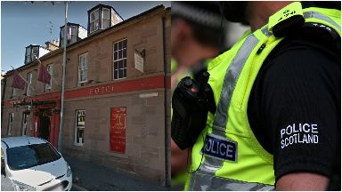 Drugs: Two former pupils accused. Brechin Northern Hotel