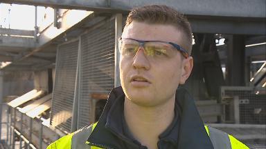 Sewage worker Christopher Fletcher.