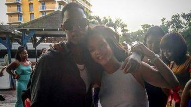 Rihanna posted the image alongside the hashtag #endgunviolence