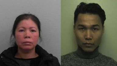 Thu Huong Nguyen (l) and Viet Hoang Nguyen were jailed.