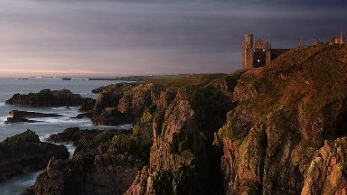 Slains Castle: Aberdeenshire site is believed to have inspired Bram Stoker.