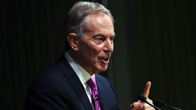 Tony Blair's spokeswoman said the claims were 'a complete fabrication'.
