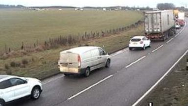 A90: Delays for commuters. Toll of Birness