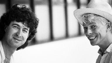 Denis O'Regan with David Bowie