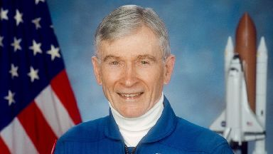 John Young commanded the first space shuttle flight.